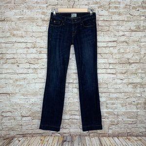 Hudson Woodstock flap pocket flare jeans sz 24